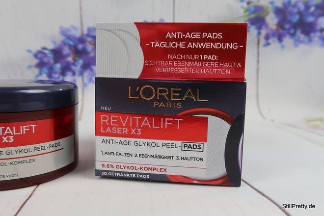 Revitalift Laser X3 Anti-Age Glykol Pads
