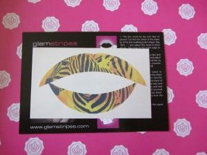 Glam Lips aus der Glossy-Box