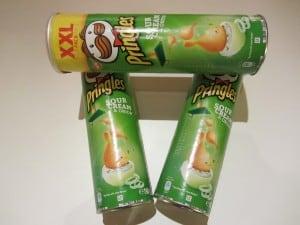 Pringles Produkttest Sour Creme & Onion