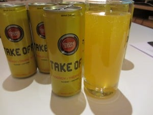 Produkttest Take Off Energy Drink Tropic Mix