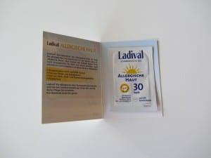 Kleines Testtütchen von Ladival