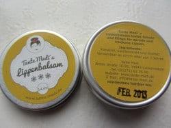 Testbiene und Tante Medi´s Lippenbalsam