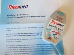 Theramed Facebook-Verlosung