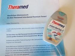 Theramed Facebook-Verlosung