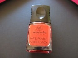 Alessandro Nagellack classic red