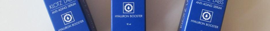 Gewinnspiel: Testbiene verlost 5x den Hyaluron Booster von Klotz-Labs