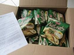 Produkttest Naturals Rosmarin Chips von Lorenz