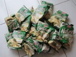 Produkttest Naturals Rosmarin Chips von Lorenz Testpaket
