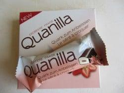 Produkttest Quanilla Quark zum anbeißen