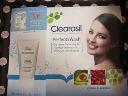 5 Euro Ermäßigung auf Clearasil Perfecta Wash