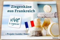 Produkttest französischer Ziegenkäse bei Brandnooz