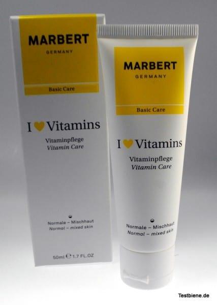 Produkttest Marbert I love Vitamins Vitaminpflege