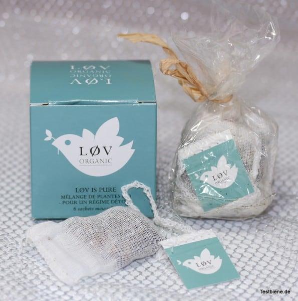 LOV Organic Biologischer Tee ( 13,2g / 1,63 Euro)
