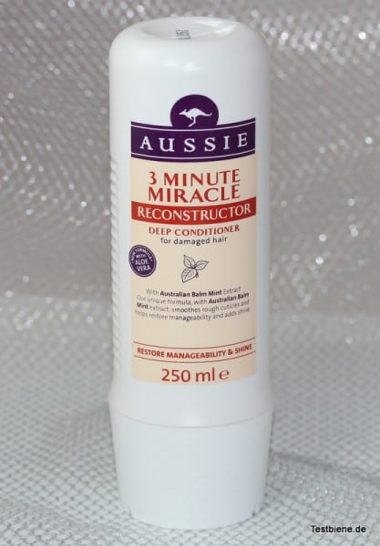 Aussie 3 Minute Miracle Reconstructor (250ml / 7,95 Euro)