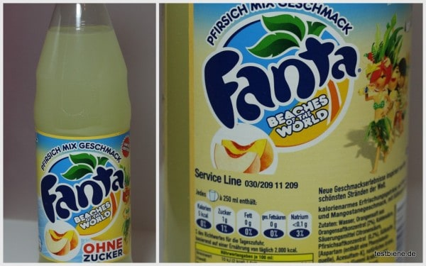 Fanta Beaches of the World Pfirsich Mix