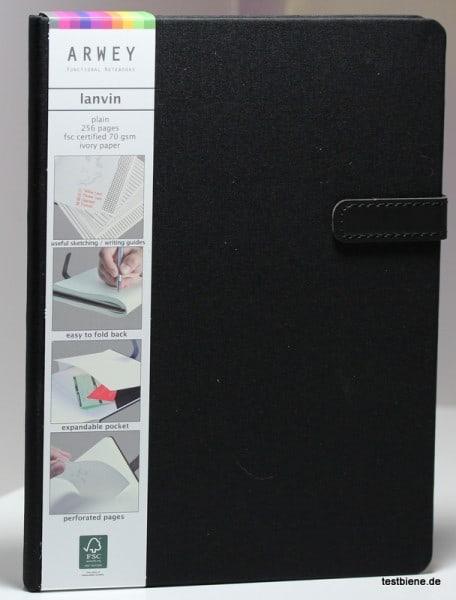 Elegantes Leinencover mit Magnetverschluss