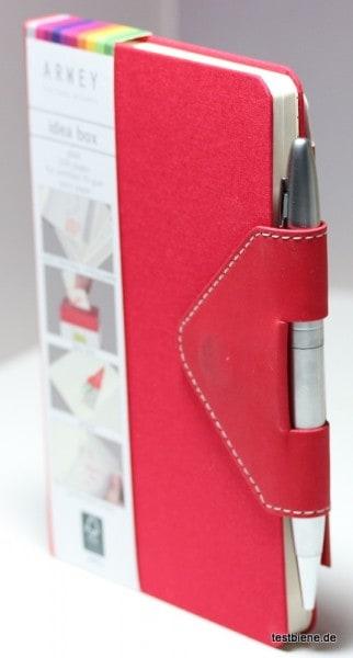 Magnetverschluss und integrierter Stift