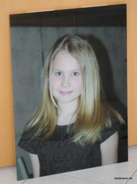 Meine Tochter in 60x40cm auf Acrylglas :-)