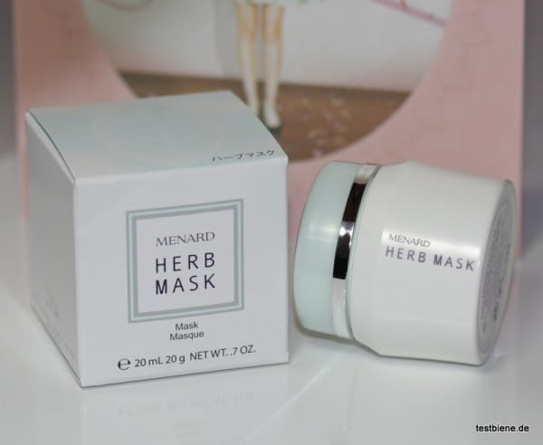 Menard Herb Mask (20ml/11,17€)
