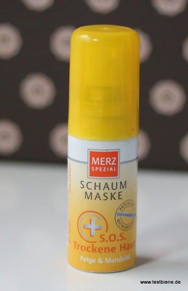 Schaum Maske von Merz (Goodie)