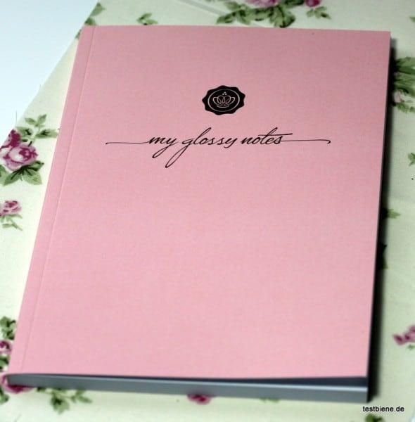 Goodie: Glossy Box Notizbüchlein
