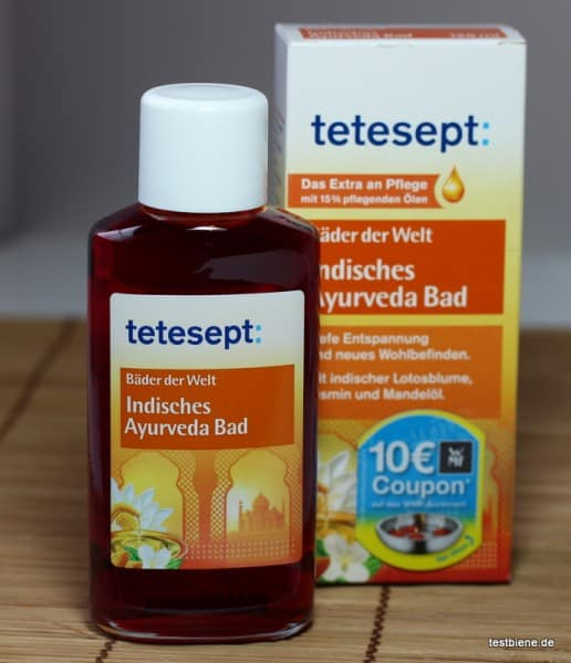 Tetesept indisches Ayurveda Bad (125ml/6,49€)
