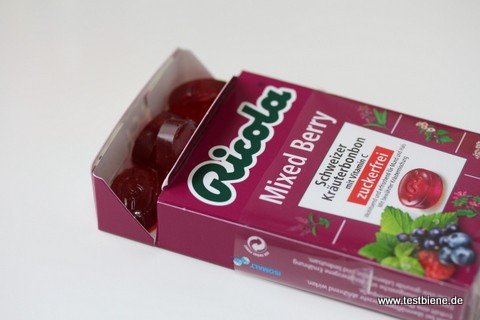 Ricola Mixed Berry (1,89€)