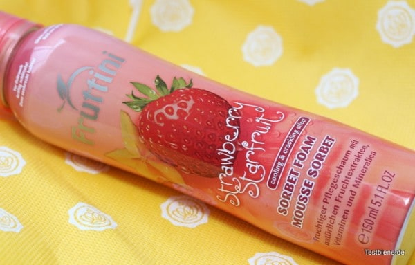 Fruttini Sorbet Foam (150ml/2,99€)