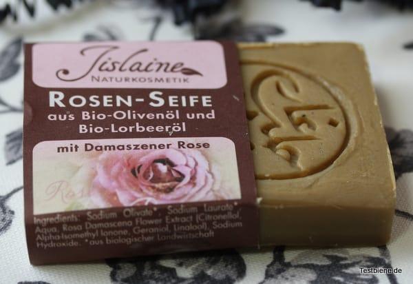 Jislaine Naturkosmetik Rosen-Seife (20g/1,39€)