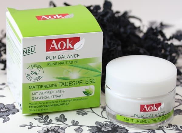 AOK Pure Balance Mattierende Tagespflege (50ml/5,99€)