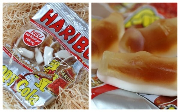 Haribo Happy Cola gefüllt (175g/0,99€)