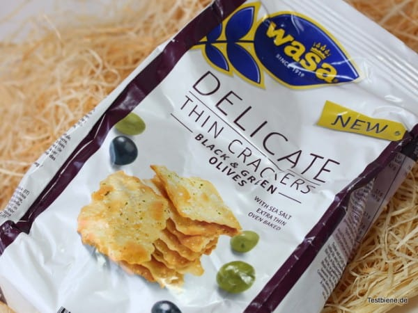 Wasa Delicate Thin Crackers (150g/1,99€)