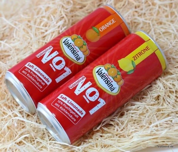 Valensina Saft-Limonade (2x 0,33l / je 0,99€)