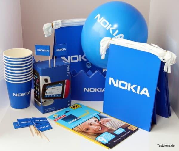 Das Party-Paket von Paart und Nokia