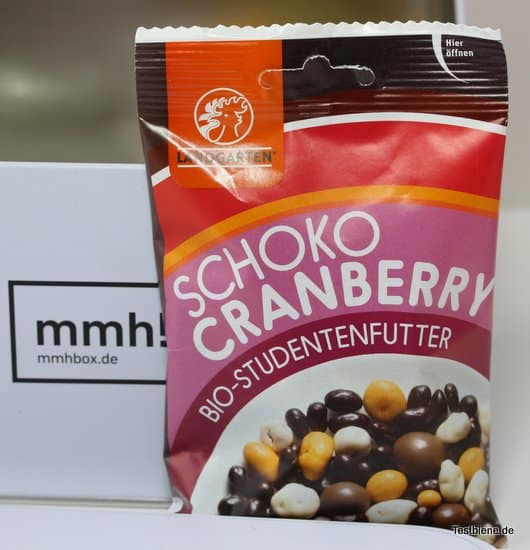Schoko Cranberry aus Österreich (50g)