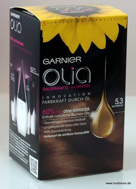 Garnier Olia Goldbraun