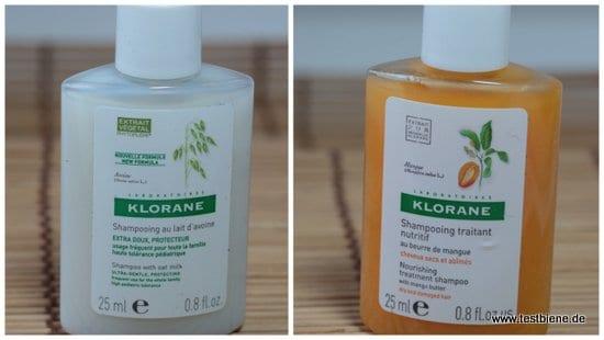 Klorane Shampoo ( 2x25ml/ 1,74€)