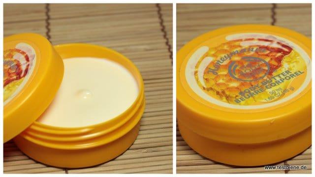 The Body Shop HoneyMania Body Butter (50ml / 4€)
