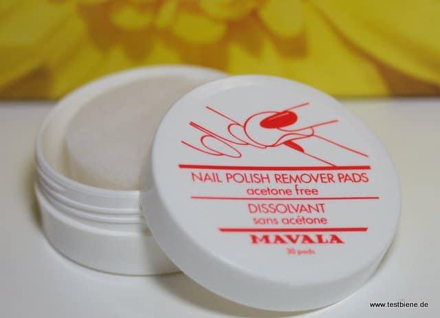Mavala Nagellack-Entferner Pads (Originalgröße/30St.)