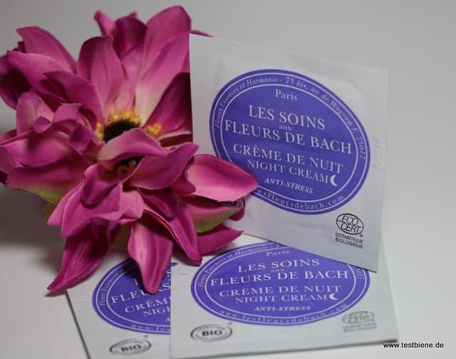 Les Fleurs de Bach Anti-Stress Nachtcreme (Proben)