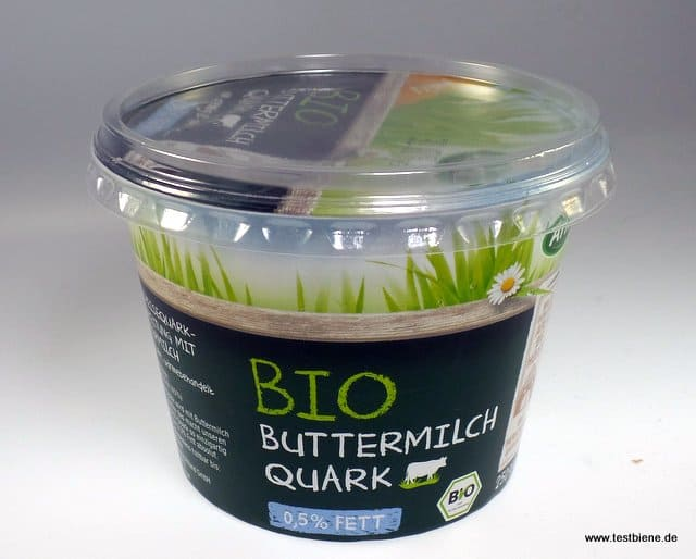 Bio Buttermilch Quark, cremig und dorch nur 0,5% Fett