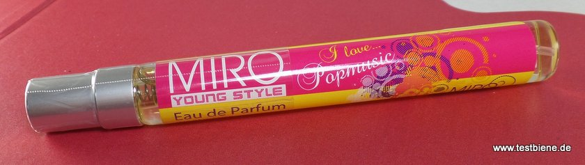 "Miro Cosmetics ""I Love popmusic"" (10ml / 1,99 Euro)"