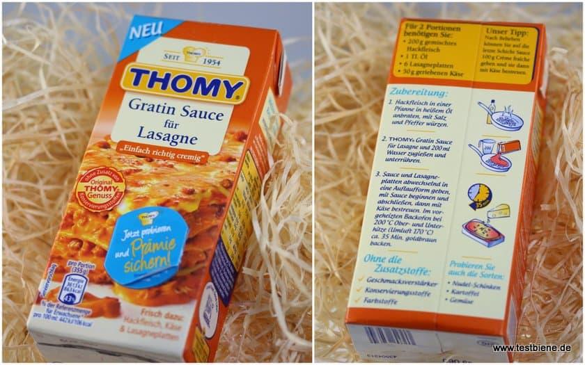 Thomy Gratin Sauce für Lasagne (350ml / 1,39€)