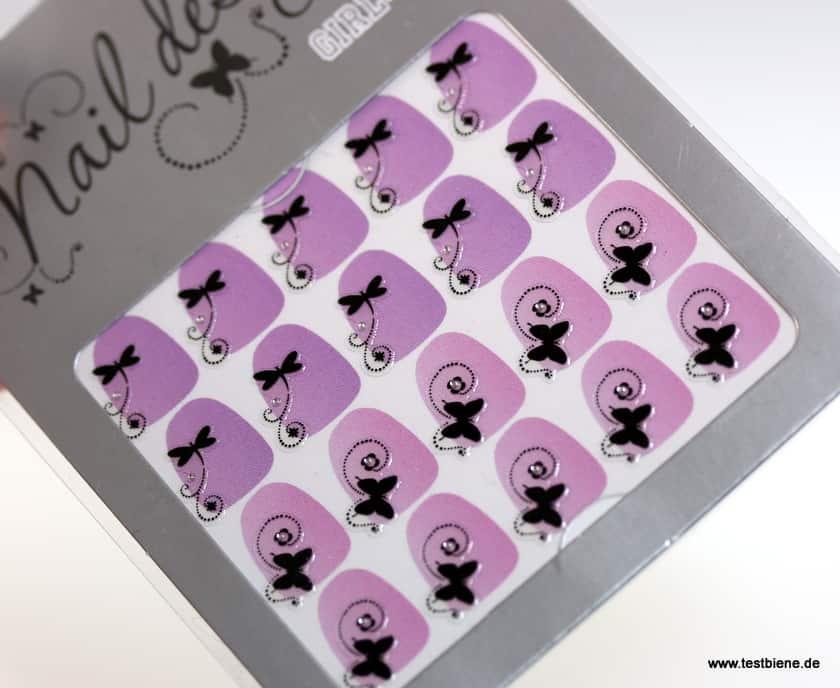 Nageldesign Sticker