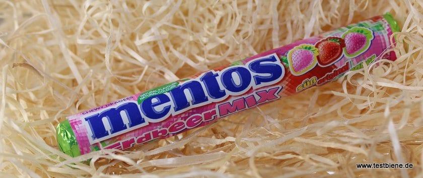 Mentos Erdbeer-Mix (0,70€)