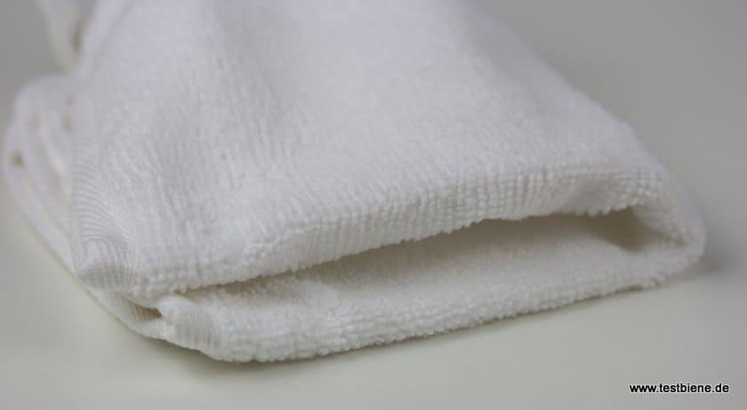 Reinigungstuch mit glatter und weicher Oberfläche