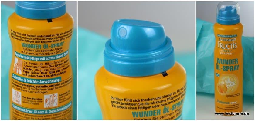 Garnier Fructis Wunder Öl-Spray