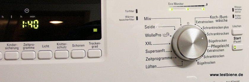 hilfreiche LED-Anzeige