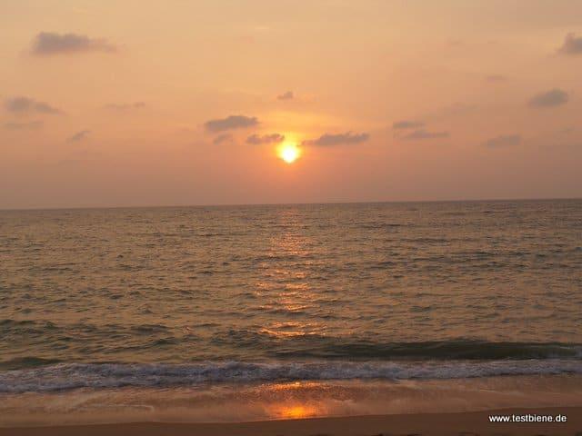 jeden Abend ein wunderschöner Sonnenuntergang