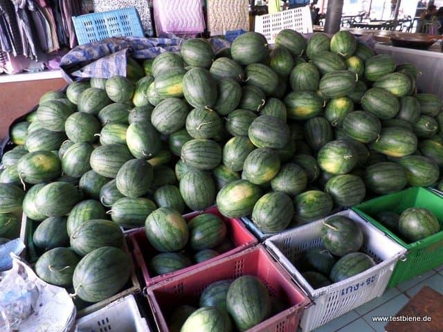 ein paar Melonen